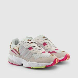 New adidas Youth Yung-96 Shoes, Grey Womens 8.5